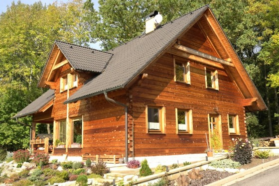 moderní roubené domy