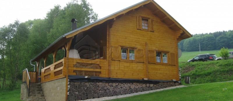 srubové chaty